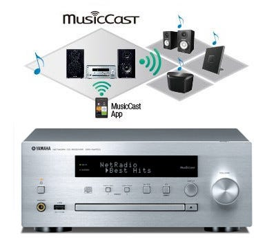 Yamaha MCR-N470 MusicCast Component Micro System | Selby