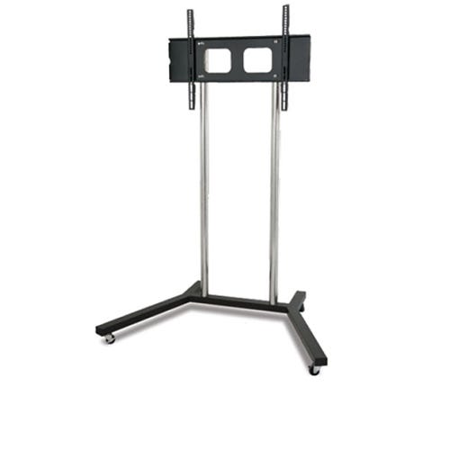 Portable Tv Exhibition Stand : Portable tv stand mobile display mount trolley free
