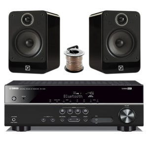 Q acoustics 2020i rx v381 home theatre gift ideas for Yamaha home theatre customer care number