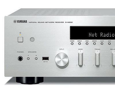 Yamaha R-N602 Stereo MusicCast Receiver Silver   Selby