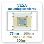 TV Mounting Holes