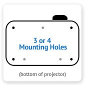 Projector Mounting Holes