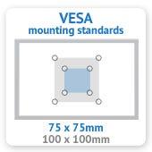 WM8822 VESA Mounting Standards