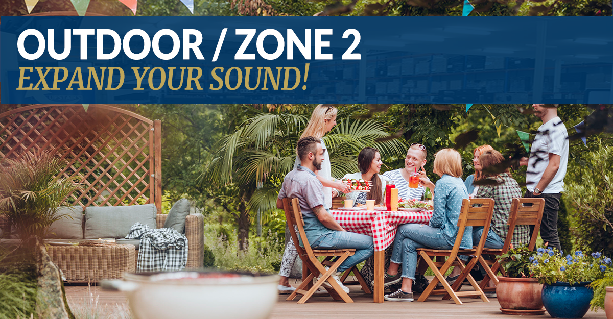 Outdoor Speaker Setups - Expand Your Sound For Summer!