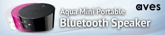 Aves Aqua Mini Portable Bluetooth Speaker