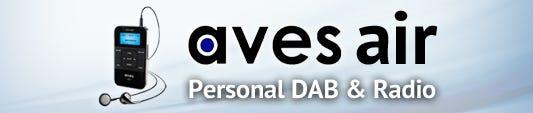 Aves Air Personal DAB+ Radio
