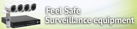Feel Safe With Surveillance Equipment