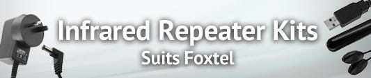 Infra-Red Repeater Kits - which also suit Foxtel