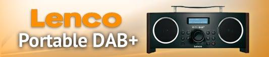 Lenco Portable Digital DAB+ FM Radio