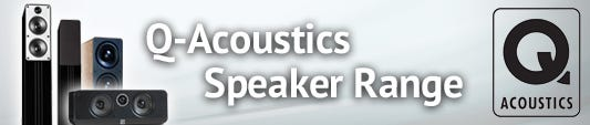 Q Acoustics Speaker Range