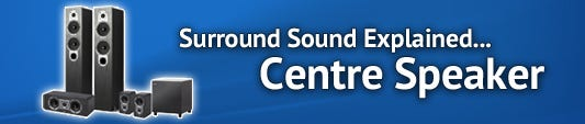 Surround Sound Series: What does a Centre Speaker do?
