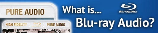 What is Blu Ray audio?